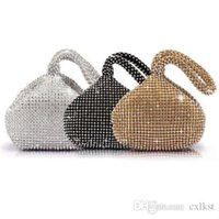 good evening - Fashion Women Rhinestones Crystal Evening Clutch Bag Party Prom Wedding Purse Brand New Good Quality