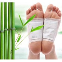 Wholesale 50pcs Detox Foot Pads Patch Detoxify Toxins with Adhesive Keeping Fit Health Care Foot Care Tool