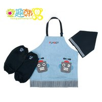 baby bibs waterproof backing - New arrival Hot sale South Korea winghouse authentic baby painting cute apron bib overalls clothes waterproof back male dress