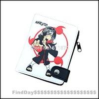 akatsuki wallet - Naruto Cosplay Konoha Akatsuki Uchiha Itachi Cartoon Logo Hi Q PU Leather Vertical Wallet Purse Burse Moneybag Notecase