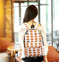 Wholesale 7pc fashion oxford emoji colleage bags big capacity backpacks honestgirl09