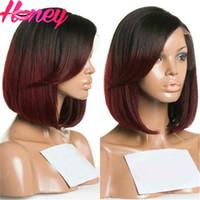 Cheap 99j ombre wigs Best short bob wigs