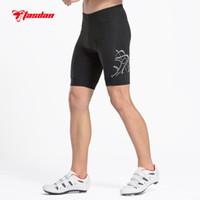 Wholesale Tasdan Bike Cycling Bicycle Cycling Clothin Cycling Shorts Mens Cycling Comfortable Gel D Coolmax Padded Bike Shorts Pants