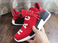 arrival williams - Supply Original NMD HUMAN RACE Pharrell Williams X NMD Runner Shoes man women New Arrivals Sneakers running shoes With Box