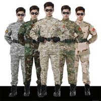 Wholesale Tactical Jacket Sets Camouflage suit male soldiers desert combat uniform digital outdoor uniforms in high quality