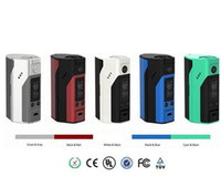 Wholesale 1PCS Original Wismec Reuleaux RX200S w vape mod E Cigarette Temp Control box mod kits colors upgrade rx200 mod IN STOCK