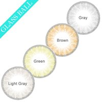 big glass eye - Hot Glass Ball Color Contacts Big Eye Cosmetic Contact Lenses Gray Contacts