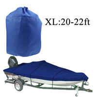 Wholesale Speedboat Fishing Boat Cover D Car Covers for ft Beam quot Trailerable Fish Ski Waterproof UV Protected Resistant XL