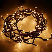 Wholesale 100small Bubble Light Christmas Decorative Light String Lamp Holiday Party Decor Lighting