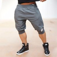 Wholesale Body Engineers Quality Cotton Muscle Brothers Men Joggers Short Shorts Slim Thin Section Breathable Pockets Mid Straight