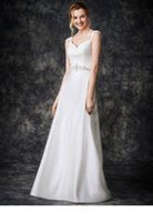 bead gallery beads - 2016 Spaghetti Straps Sweetheart Neckline With Beading Satin Wonderful A Line Ga2267 J26T Ella Rosa Gallery Bridal Gowns Wedding Dresses