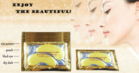 Wholesale Hot sale pairs Crystal Collagen Eye Pads Gold Power Eye Mask collagen Makeup accessories