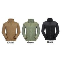 Wholesale Outdoor Fleece Camping Jacket Men SWAT Outdoor Sport Jackets Thermal Breathable Lightweight Sports Tactical High Quality Fleece Jackets