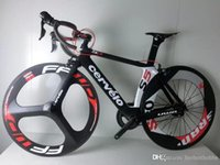 Wholesale Cervelo S5 Carbon Complete Road Bike Store Complete Bicycle Bike With three Spoke wheels mm wheels A03