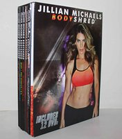 Wholesale Jillian Michaels Shred Slimming Training Dvds Set Body Building Exercise Fitness Video BODYSHRED Workouts also have piyo3dvd