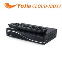 Wholesale 10pcs Cloud ibox4 Satellite Receiver DVB S2 Twin Tuner Cloud ibox4 Linux System CloudIbox Same as VU Duo Image order lt no