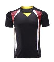 Wholesale Table Tennis t Shirt Men Women Table Tennis Jersey pingpong shirt Badminton sportswear uniforms