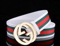 Wholesale 2016 original designer gold silver gg buckle belts men high quality mens belts luxury men designer leather belt free epacket shipping