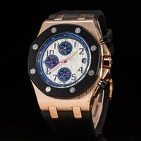 ap sports - Luxury Customized Brand Watch Men AP Sapphire Crystal Mechanical Automatic Rubber Band Diver Watches Sports Wristwatches