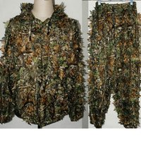 Wholesale New Hot D Tactical Sniper Camouflage Foliage Bionic Ghillie Suit Camouflage Hunting Forest Clothes