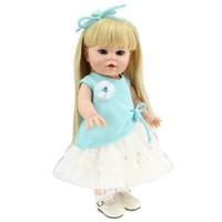 Nouveaux Belle Lifelike Reborn Baby Dolls 40CM réel complet silicone Body Vinyl Filles American Doll Jouets à bas prix 2016 Hot Sale 16 __gVirt_NP_NN_NNPS<__ pouces