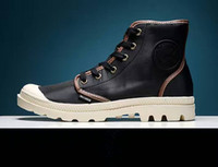 big outlets - Big Promotion New Season Brand Palladium Male and Female Ankle Boots Classic Style Waterproof Shoes Outlet