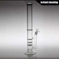best ice box - triple honeycomb bong Glass Water Bong mm Thickness Glass Water Percolator Pipes Thickest Ice Catcher Best Smoking Pipes Glass HFY1025