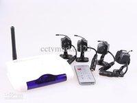 2.4G 4CH mini-caméra sans fil Accueil USB DVR système de surveillance CCTV de sécurité / kit sans fil système de caméra de surveillance de haute qualité