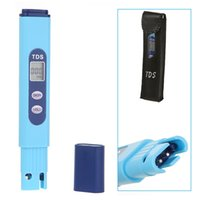 Wholesale 2015 TDS EC Meter Temperature Tester pen Conductivity Water Quality Measurement Tool TDS EC Tester ppm