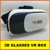 Wholesale New Virtual Reality VR BOX II Version D Glasses Google Cardboard VR Glasses D Video Movie Game For Smartphones inch