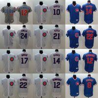 dexter - Mens Elite Chicago Cubs Jason Heyward Ernie Banks Sammy Sosa Dexter Fowler Ron Santo Flexbase Baseball Stitched Jerseys