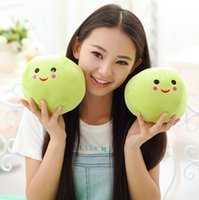 best peas - Cute Little Peas Stuffed Plush Doll Toy Pea Pod Toys Pillow novelty gift for girls Best Gift for Children s