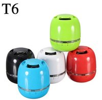 automotive flooring - T6 Automotive Audio Home LED Red Bluetooth Speaker t6 Wireless Waterproof hand free Call Best Mini Bluetooth Speakers