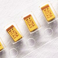 Wholesale Chip tantalum capacitors V UF A A type