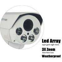 Wholesale CCTVMAN HD PTZ IP Camera p mp X Zoom Lens mm Pan Tilt Rotation Outdoor Led Array Night Vision IR M Security Kamera