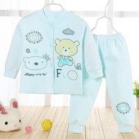 baby long john - 2016 children the spring and autumn period and the new suit Baby baby double breasted cardigan Long Johns cotton suit national characteristi