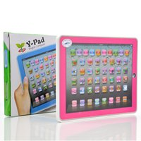 Wholesale ypad Learning Machine Computer Y pad Table Learning Machine English Computer for Kids Children Educational Toys Music Led