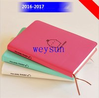 Wholesale quot Molang Rabbit quot Cute Diary Any Year Planner Pocket Journal Kawaii Notebook Agenda Scheduler Memo Korean Study Gift
