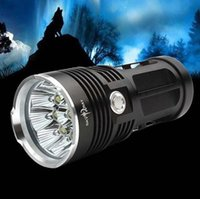 Wholesale LED Flashlights Waterproof Skyray led flash light Lumen for Camping Hunting Hiking Torch Cree XM L T6 tactical Lantern DHL free