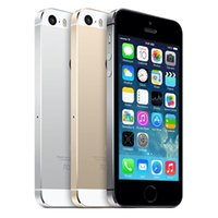 Wholesale 2016 Original Refurbished Apple iPhone iPhone5 Smartphone RAM G GB GB G WIFI G GPS in Sealed box DHL Free