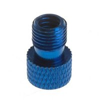 Wholesale XON Bike Bicycle Tire Tube Valve Adaptor Convert Presta to Schrader Changer Blue