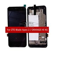 apex tools - For ZTE Orange Hi G LCD Display Screen With Touch Digitizer Frame For ZTE Blade Apex Apex2 lcd with Tools