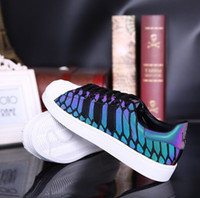 snake print shoes - Top Quality men s and women s shoes ZX FLUX XENO new all star reflective black snake spirit leisure shoes
