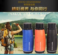 Wholesale New Monocular Super clear X52 Big eyepiece Outdoor telescope High Definition High magnification Factory outlets Hunting Scopes Optics