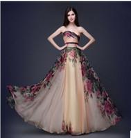 Grace Karin Vestido de noche largo Vestido Floral Fiesta Imprimida Vestidos Fiesta de la Fiesta de la Fiesta