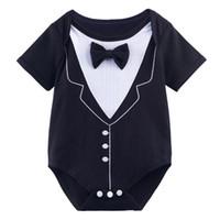baby tuxedo onesie - Halloween Baby Boys Funny Tuxedo Gentleman Costume Bodysuit Onesie Months
