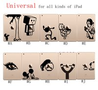 Wholesale PVC Decal Protective Back Sticker for iPad Decal Stickers Vinyl Sticker Decal Skin Cover For Apple iPad Air Mini