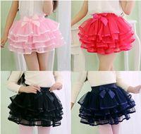 ballerina skirts fashion - BEST DRESS New fashion girls tutu skirts baby ballerina skirt childrens chiffon fluffy pettiskirts kids Hallowmas casual candy color skirt