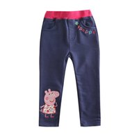 venda por atacado clothing made in china-Made in China desenhos animados bordado Nova calças calças calças de vestuário crianças bebés crianças calças crianças calças de inverno