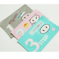 Wholesale Holika Holika Pig Nose Mask Remove Blackhead Acne Remover Clear Black Head Step Kit Beauty Clean Face Care Cosmetic